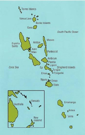 Where Were The New Hebrides Islands