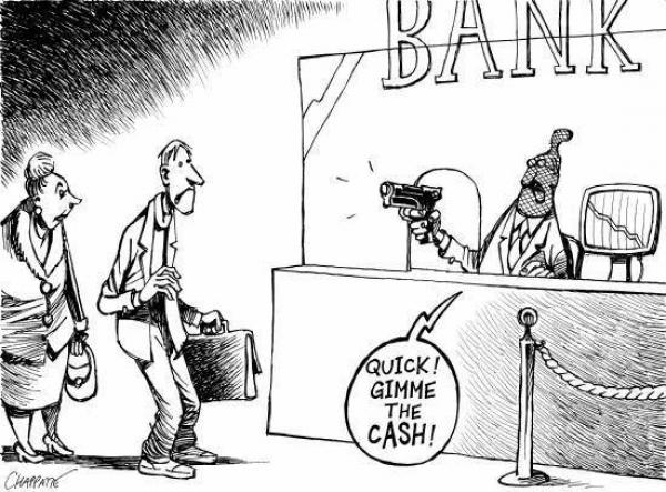 banks can confiscate your money